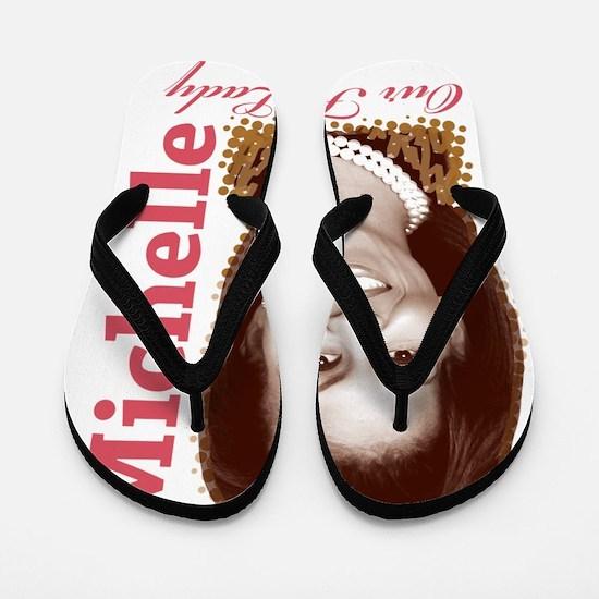 Michelle Obama Flip Flops
