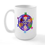World Peace Large Mug