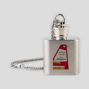 Atlanta_10In12_TheBigChicken Flask Necklace