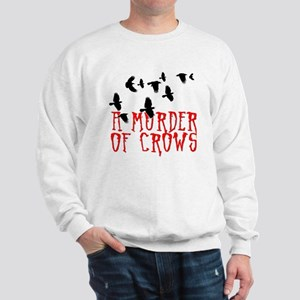 A Murder of Crows Birding T-Shirt Sweatshirt