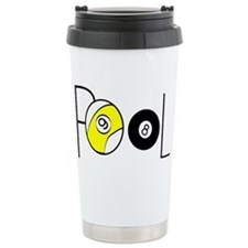 Word Pool Stainless Steel Travel Mug
