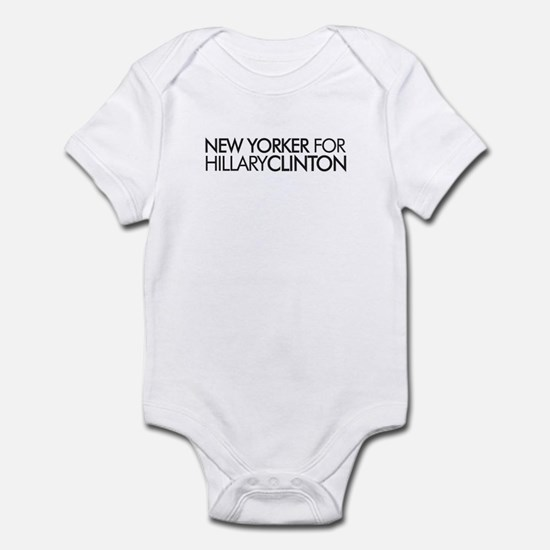 New Yorker for Hillary Clinto Infant Bodysuit