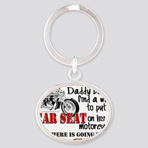 babyattitude Oval Keychain