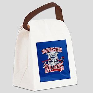 Shermer Bulldogs Canvas Lunch Bag