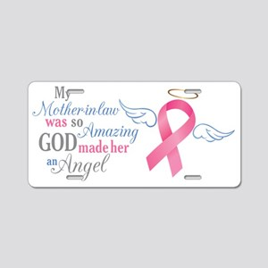 My Mother-In-Law An Angel - Aluminum License Plate