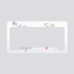 My Sister An Angel - License Plate Holder