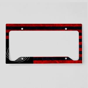 indelve disOBEDIENCE black License Plate Holder