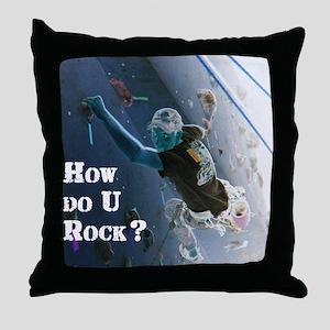 howurock Throw Pillow