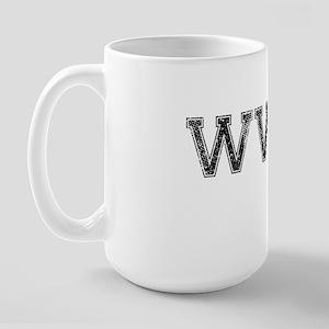 WWDD, Vintage Large Mug