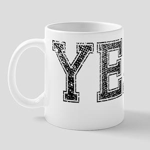 YEAH, Vintage Mug