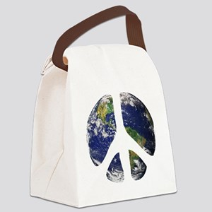 World Peace Canvas Lunch Bag