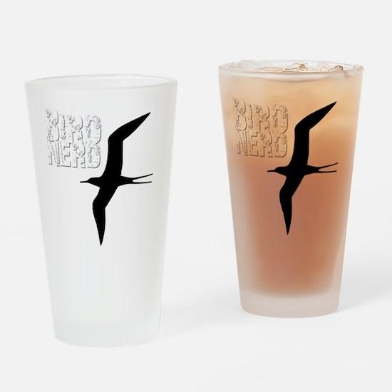 Bird Nerd (Frigatebird) Birding T-S Drinking Glass