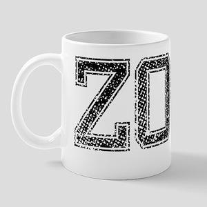ZOOT, Vintage Mug