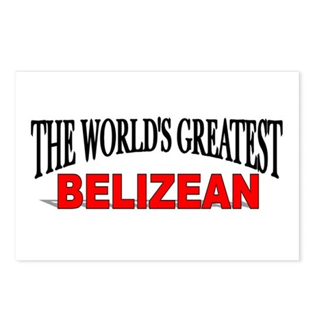 """The World's Greatest Belizean"" Postcards (Package"