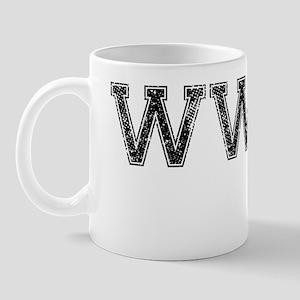 WWWD, Vintage Mug