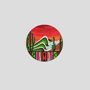 Cactus Point Mini Button