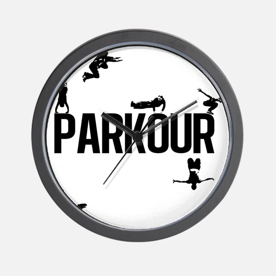 Parkour Wall Clock