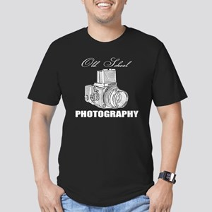 Old school photography Men's Fitted T-Shirt (dark)