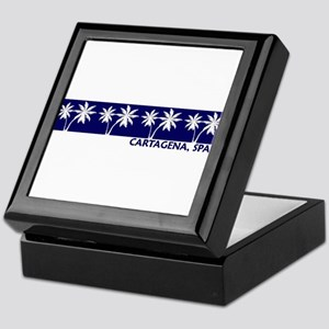 Cartagena, Spain Keepsake Box