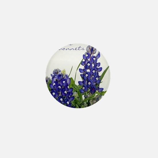Texas bluebonnet Mini Button