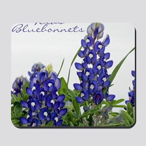 Texas bluebonnet Mousepad