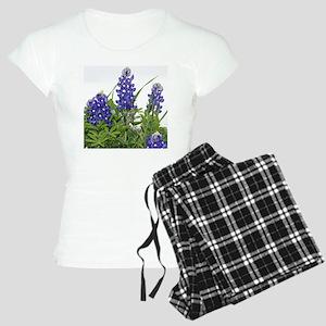 Plain Texas bluebonnets Women's Light Pajamas