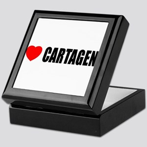 I Love Cartagena, Spain Keepsake Box
