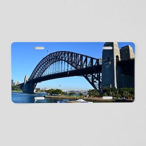Sydney Harbour Bridge Aluminum License Plate