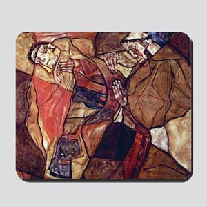Egon Schiele Agony The Death Struggle Mousepad