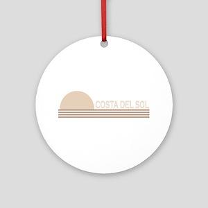 Costa del Sol, Spain Ornament (Round)
