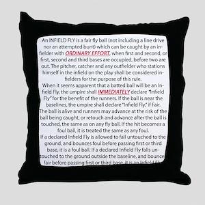 BS-Back Throw Pillow