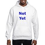 Not Yet Hooded Sweatshirt