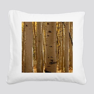 Aspens Square Canvas Pillow