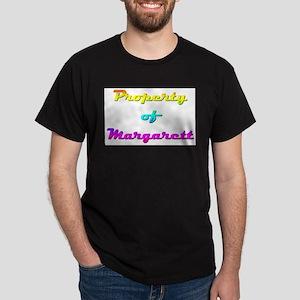 Property Of Margarett Female Dark T-Shirt