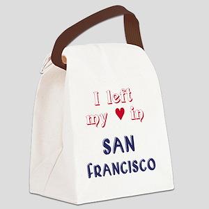 SF_10In12v2_LeftHeart_Design2_Red Canvas Lunch Bag
