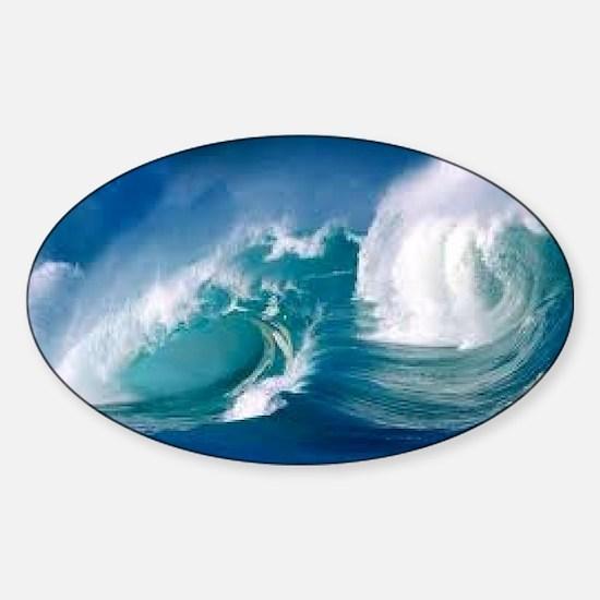 Ocean Sticker (Oval)