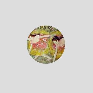 Edgar Degas Ballet Dancers Mini Button