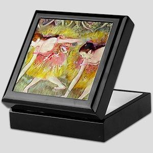 Edgar Degas Ballet Dancers Keepsake Box