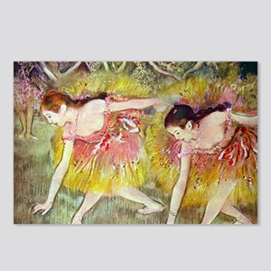 Edgar Degas Ballet Dancer Postcards (Package of 8)