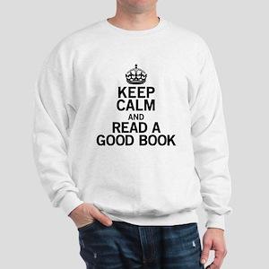 Keep Calm Good Book Sweatshirt