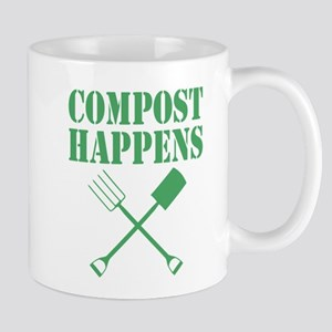Compost Happens Mugs