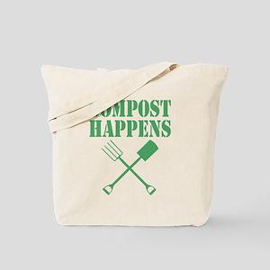 Compost Happens Tote Bag