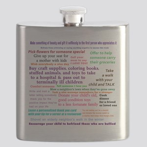 Random Acts Of Kindness Flask