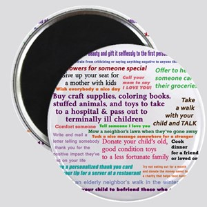 Random Acts Of Kindness Magnet