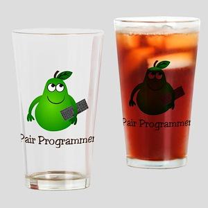 Pair Programmer Drinking Glass