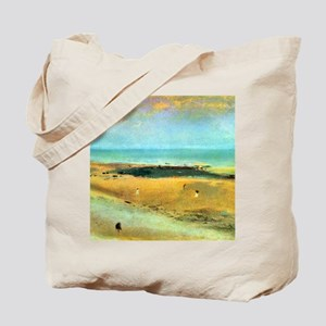 Edgar Degas Beach At Low Tide Tote Bag