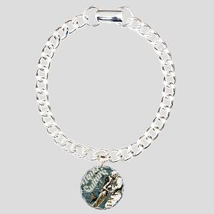 AQUA CULTURE KISS THE DE Charm Bracelet, One Charm