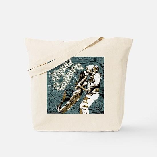 AQUA CULTURE KISS THE DEEP Tote Bag