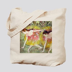Edgar Degas Ballet Dancers Tote Bag
