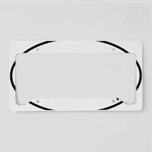 gravityoval License Plate Holder